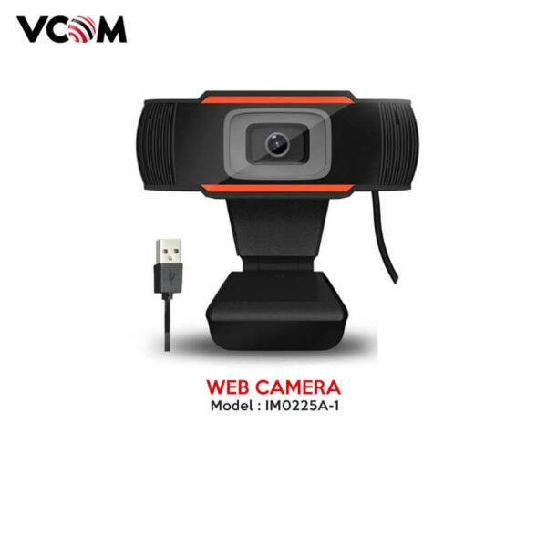Vcom Web Camera 720P Model: IM0225A-1 (Built in MIC)