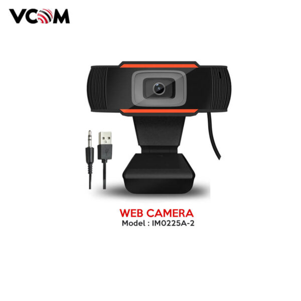 Vcom Webcam 720P Model: IM0225A-2 (External MIC)