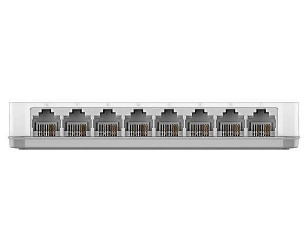 Dlink DES-1008C 8 Port 10/100 Unmanaged Switch DES 1008C Back