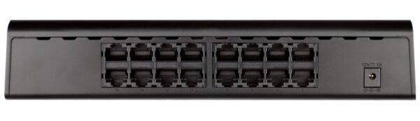D-LINK DGS-1016A 16-Port Gigabit Unmanaged Desktop Switch DGS 1016A B1 Back